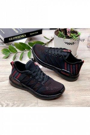 Женские кроссовки 8122-3 черные