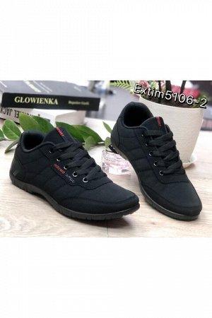 Женские кроссовки 5106-2 черные