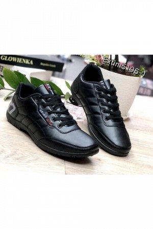 Женские кроссовки 5106-1 черные