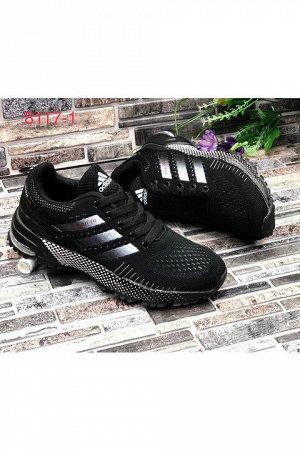 Женские кроссовки 8117-1 черные