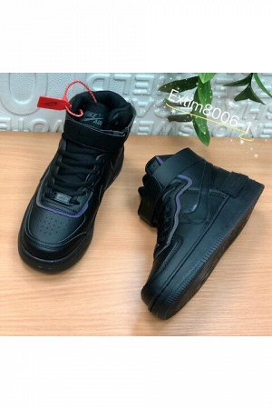 Женские кроссовки 8006-1 черные