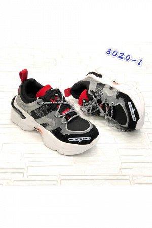 Женские кроссовки 8020-1 черные