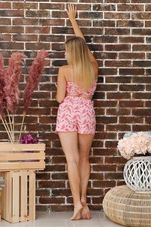 Пижама ПЖ 014 (Перышки розовые)