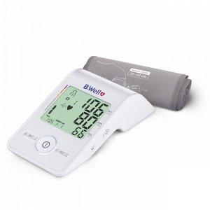 Тонометр автомат. MED-55, 3check, дисплей-светофор, питание от Micro USB, Intellect Active, индикатор аритмии, память 2x60, дата и время, цветная шкала давления, конусная манжета M-L (22-42 см)
