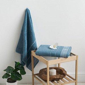 Полотенце махровое С-Барбара 50х90 жемчужно-голуб Blue Heaven