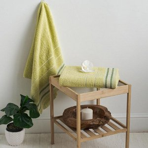 Полотенце махровое С-Барбара 50х90 лайм Daiquiri Green