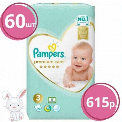 PAMPERS Подгузники Premium Care Junior (11+ кг) -500р — Акция Pampers! Успей купить