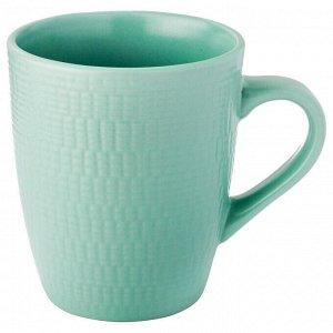 Кружка КРУЖКА LEFARD 380 МЛ МЯТНАЯ  Материал: Керамика ТМ LEFARD - упрочненный фарфор на каждый день. Посуда прошла сертификацию. Безопасна для контакта с пищевыми продуктами. Удобная форма, модный па