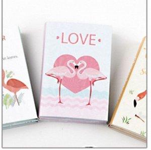 "Стикер книжка серия ""Фламинго"""