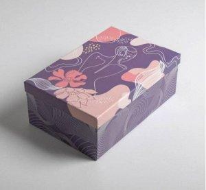 Коробка подарочная Девушка 02