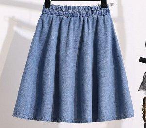 Джинсовая юбка,