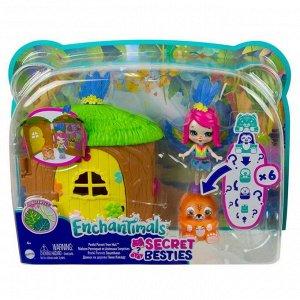 Игровой набор Mattel Enchantimals Домик-сюрприз Пикки Какаду120