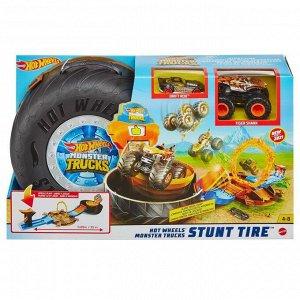 Игровой набор Mattel Hot Wheels Монстр трак Автотрек Трюковая арена5