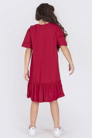 Платье ДЕВ DMB 2427 красный