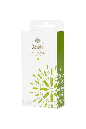 Классические презервативы AMOR NATURE 18 см (15 шт)