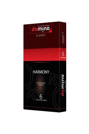 Гладкие презервативы Domino Harmony (6 шт)