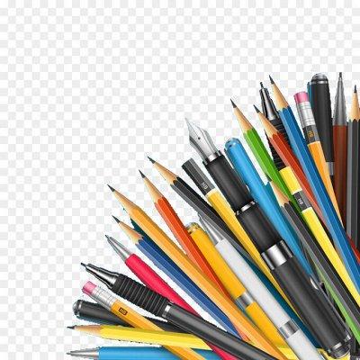 Рельефная канцелярия — готовимся к учебному году — Ручки, карандаши