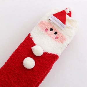 "Плюшевые чулки ""Внучка Санта Клауса"""