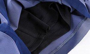 """Женские спортивные шорты на резинке, надпись """"dryfit"""", цвет черный"""