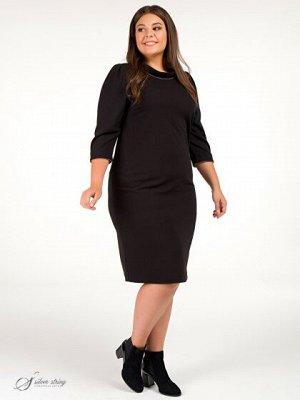 Платье Классическое базовое платье которое должно быть в гардеробе любой женщины. Оно вас не раз выручит в тех случаях, когда вам необходимо быть уверенной в себе. Лаконичный крой, изящная отделка по