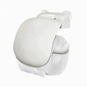 Держатель для туалетной бумаги, цвет белый 158 x 180 x 50 мм