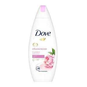 Dove Объятия нежности бессульфатный крем-гель для душа Сливочная ваниль и пион 250 мл