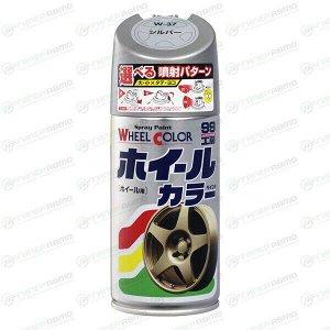 Краска для дисков Wheel color paint, Черный глянцевый, 300мл, арт. 07539