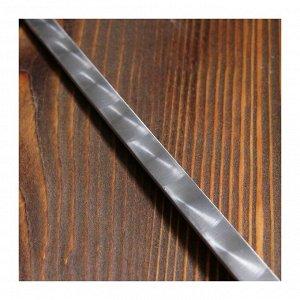Шампур с фигурной деревянной ручкой 50 см 6 шт