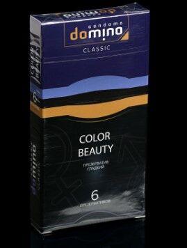 Презервативы DOMINO CLASSIC Colour Beauty 6 шт