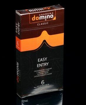 Презервативы DOMINO CLASSIC Easy Entry 6 шт