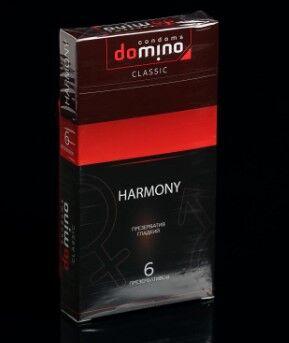 Презервативы DOMINO CLASSIC Harmony 6 шт