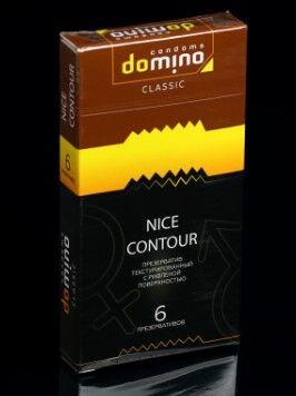 Презервативы DOMINO CLASSIC Nice Contour 6 шт