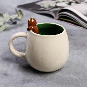 Кружка «Чашечка безделья», с формовой ручкой, 300 мл
