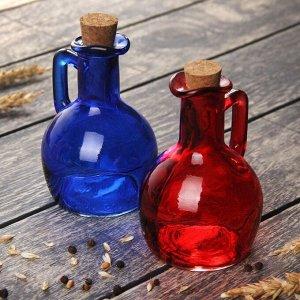 Бутыль для соусов и масла Доляна «Олио», 200 мл, 12 см, цвет МИКС