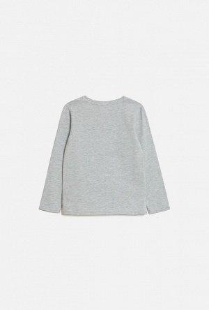 Джемпер детский для девочек Ananas светло-серый