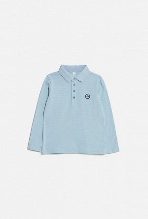 Сорочка-поло верхняя детская для мальчиков Sova синий