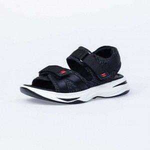 624018-71 черный туфли летние школьные Ком...