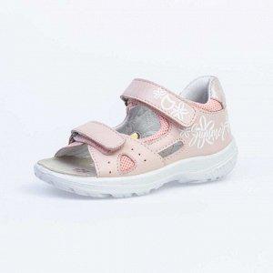 322114-22 розовый туфли летние малодетско-дошкольные Нат. кожа