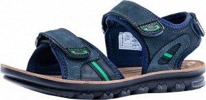 722005-76 син-зел туфли летние школьно-под...