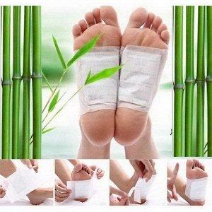 Оздоравливающий пластырь для ног Детокс с Жень-шенем