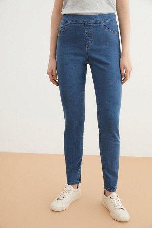 Брюки джинсовые жен. VEGHEL_SS21 темно-голубой