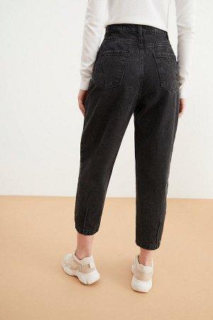 Брюки джинсовые жен. KONIK черный