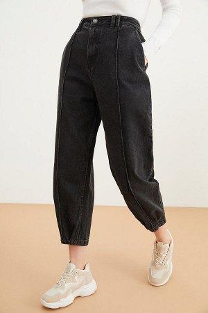 Брюки джинсовые жен. KONIK черный, размер 50-52