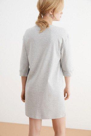 Платье жен. Armanda серый