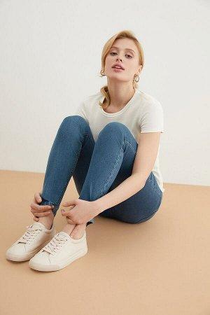 Брюки джинсовые жен. VEGHEL_SS21 синий