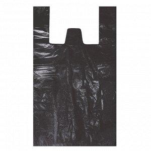 Пакет-майка 300*550мм 40мкм, черная