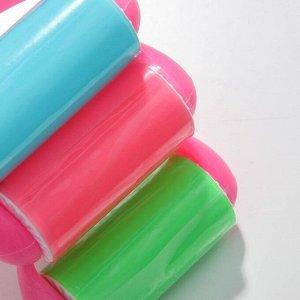 Ролик для чистки одежды силиконовый 18х14х6см, цвет МИКС