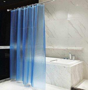 Штора для ванной, 3D, 180х180 см
