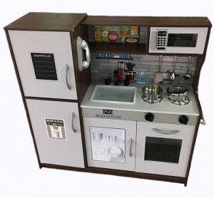 Деревянные игрушки: Кухонный гарнитур ТХ1200 (1/1) (раз. 64,4*71,6*102см) (82,5*23,8*80,9см)