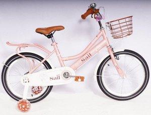 Велосипед 2-х колесный SAIL 18 д. TX-MLLTYJ  (розовый)